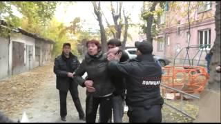 Нарушители антитабачного закона напали на полицейских