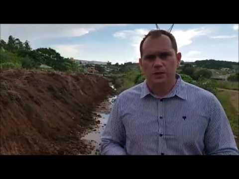 atendimento pedido vereador limpeza e tubulacao do rio