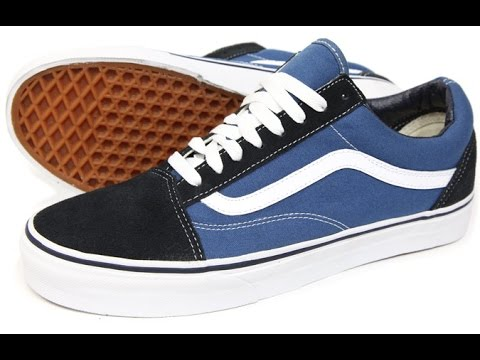 vans old skool black navy