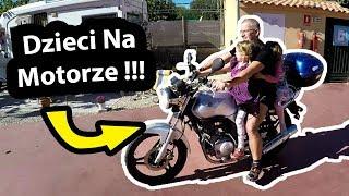 Pierwsza Jazda Na Motorze !!! - Sąsiad Zaprosił Dzieci Na Przejążdżkę (Vlog #)