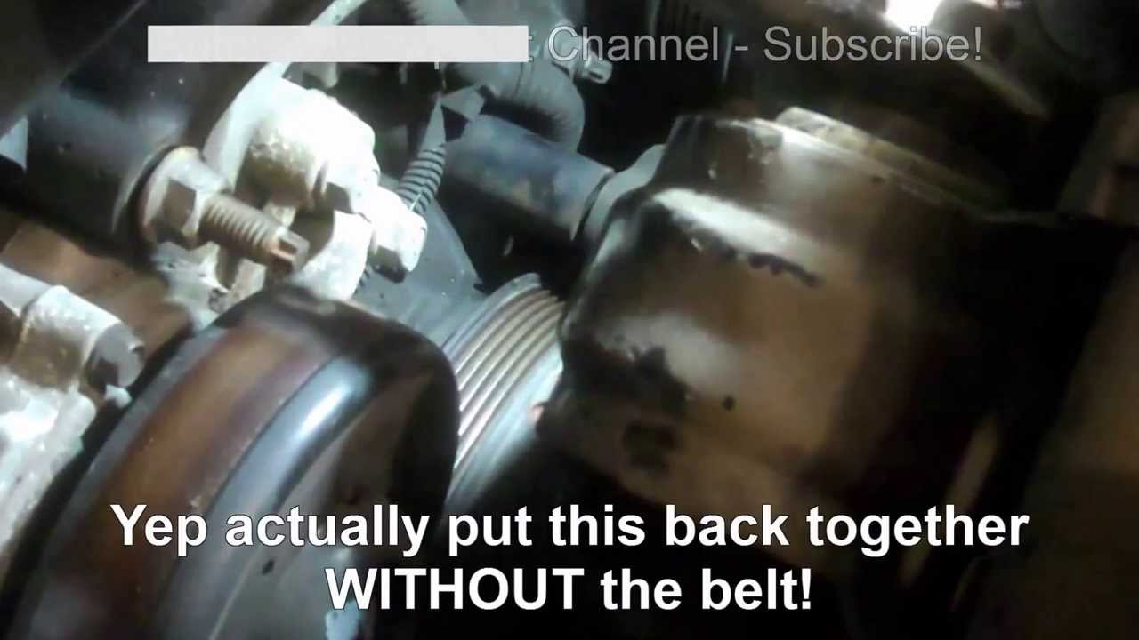 serpentine belt replacement buick lesabre 1998 3 8l oldsmobile, pontiac  install remove replace - youtube
