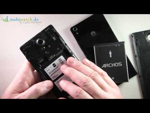 Archos 50c Oxygen vs. Huawei Ascend P7 - Lutz Herkners Video-Blog | deutsch / german