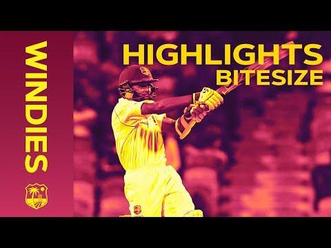 Windies v Sri Lanka 3rd Test Day 1 2018 | Bitesize Highlights