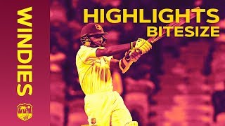 Windies v Sri Lanka 3rd Test Day 1 2018 | Bitesize Highlights