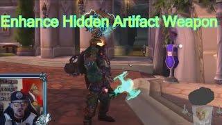 Enhance Shaman Hidden Artifact Weapon Found