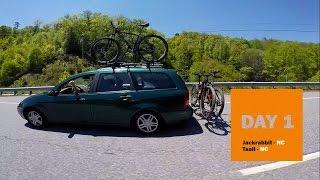 Bros Birthday Bicycle Tour - North Carolina