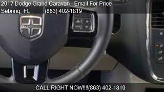 2017 Dodge Grand Caravan SXT 4dr Mini Van for sale in Sebrin