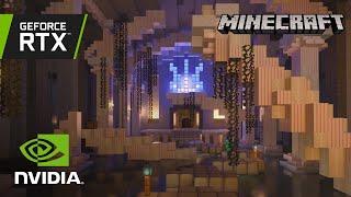 Minecraft with RTX | Dungeon Dash RTX