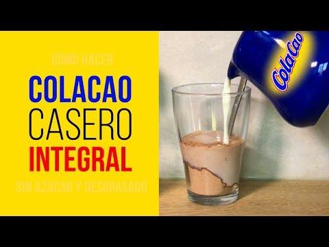 ColaCao Casero Integral Sin Azúcar y Desgrasado hecho con tu Robot de Cocina MyCook, Thermomix o Monsier Cuisine
