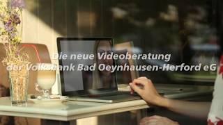 Meine Volksbank - meine Videoberatung!