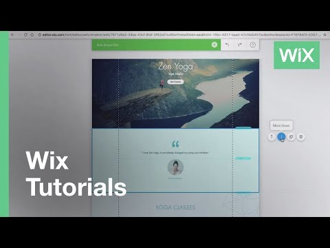 Changing the Scroll Effect on Your Strip | Help Center | Wix com