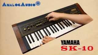 YAMAHA SK10 String Machine 1979 | HD DEMO