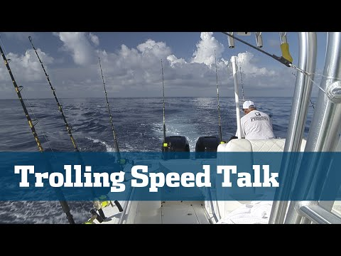 Florida Sport Fishing TV - Pro's Tip The Perfect Trolling Speed