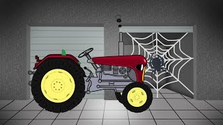 Tractor For Children | Agricultural Machinery | Garage | Traktor Konstrukcja