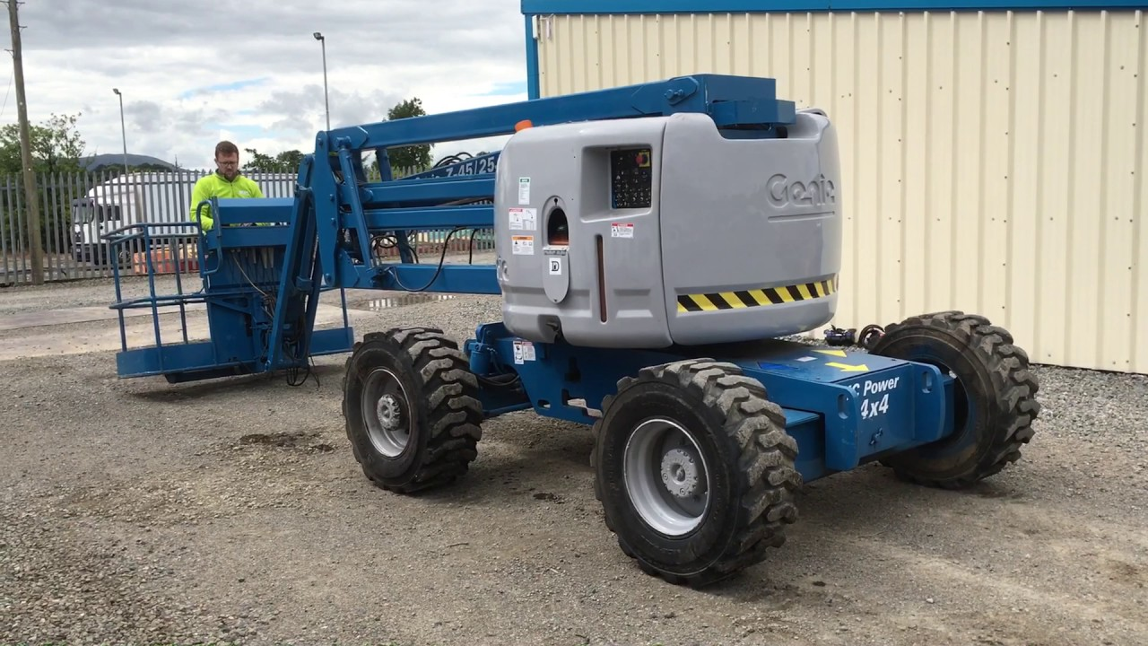 medium resolution of genie z45 25j diesel boomlift