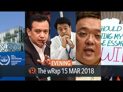 Roque, Inciting to sedition charges vs Trillanes, Poe vs Roque | Evening wRap