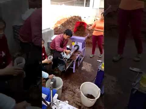 filling machine for mushroom growing