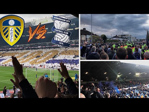 LEEDS UNITED 1-0 BIRMINGHAM CITY - CENTENARY GAME VICTORY | SCENES, FIGHTS, PYROS & MORE (19/10/19)
