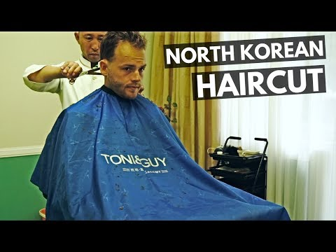 My Hair Cut in North Korea (Super cheap)