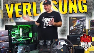 24.000 EURO! Wir verlosen den MEGA-GAMING-PC Höllenmaschine X | #Gaming-PC