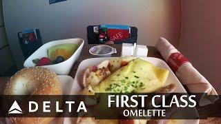 Delta First Class Omelette