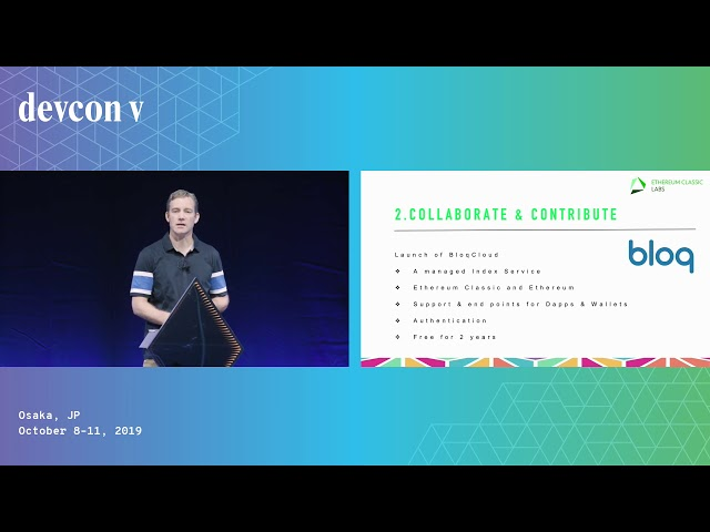 Opportunities for Collaboration: ETH1x and Ethereum Classic by Terry Culver (Devcon5)