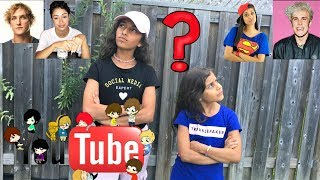 Guess That YouTuber Challenge!! sisters fun video