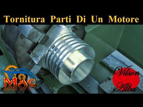 Tornitura Componenti Motore Per MaC - fai da te [ Turning Engine  Parts ]