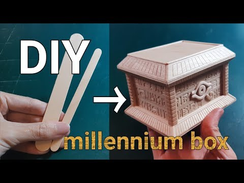 20#DIY the yu-gi-oh millennium box