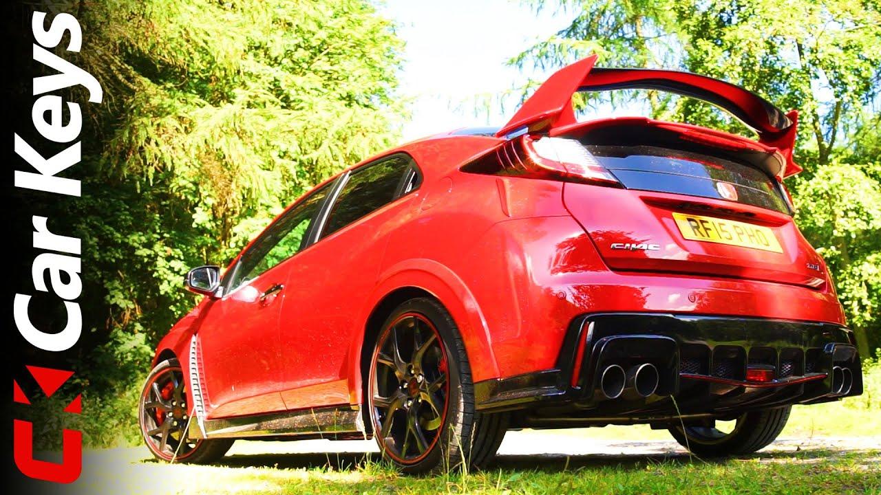 Honda Civic Type R 2015 review - Car Keys - YouTube