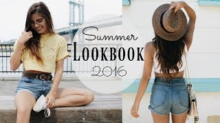 NYC SUMMER LOOKBOOK 2016