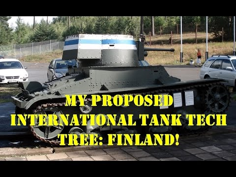 War Thunder: International Tank Tech Tree: Finland