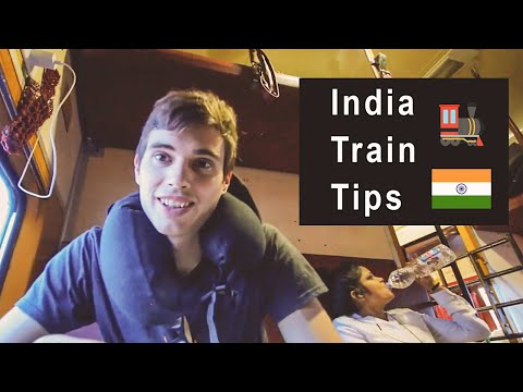 Tips for Indian Train Travel (as a foreigner) // DELHI to AGRA 🇮🇳
