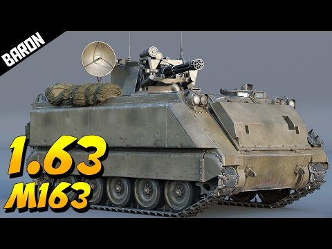 VULCAN M163 Absolutely Wrecks Anything in The Sky - War Thunder 1.63 M163 Gameplay