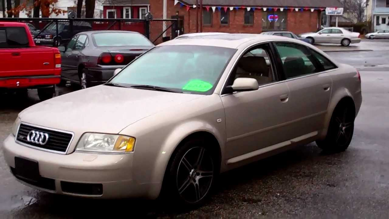 2001 audi a6 quattro awd sedan 4dr 4 2l v8 at leather moonroof youtube. Black Bedroom Furniture Sets. Home Design Ideas