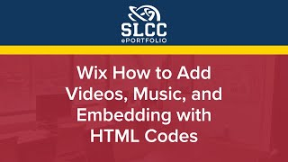 Wix  How to Add Videos, Music, and Embedding with HTML Codes