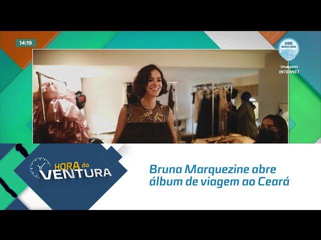 Bruna Marquezine abre álbum de viagem ao Ceará