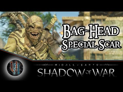 Middle-Earth: Shadow of War - Bag-Head / The Faceless   Special Scar