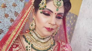 Must Watch   Beautiful Bridal Makeup   Khoobsurat Makeovers   Rubina Verm