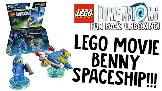 LEGO DIMENSIONS LEGO MOVIE BENNY FUN PACK UNBOXING!!! (LEGO Set No. 71214)