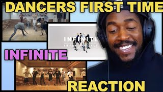 DANCER REACTS TO INFINITE Back Dance Practice | Last Romeo D…