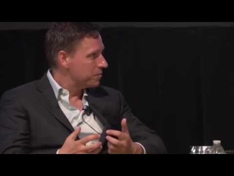 "Peter Thiel EDUCATES College Professor who asks: ""What's your problem with higher education?"""