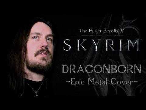 The Elder Scrolls V: Skyrim - Dragonborn (Epic Metal Cover by Skar Productions)