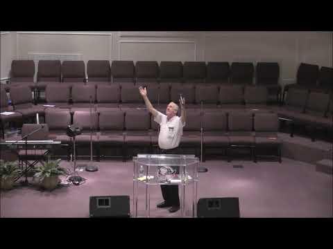 "Josh Mikkelsen preaching ""God's Purification Process,"" Wed , Aug  30, 2017"