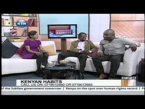 Kenya at 50 Discussion: Kenyan Habits, on Morning Express