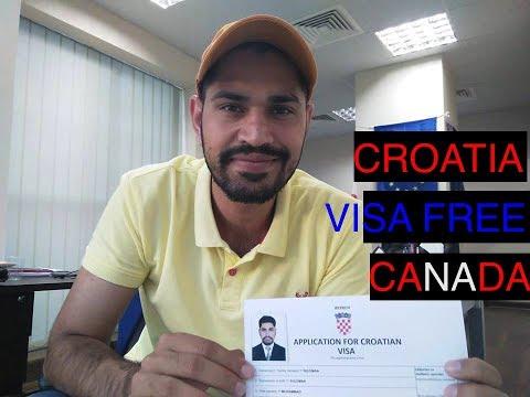 Croatia To Visa Free Canada/Australia