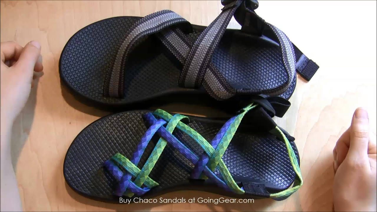 b37c2833b34b Chaco Z1   ZX2 Sandals Review - YouTube