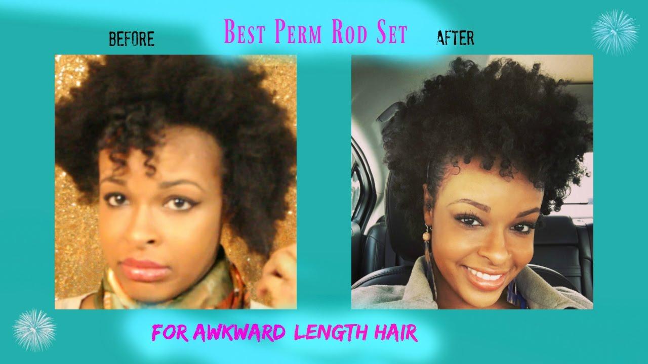 How To Best Perm Rod Set On Short Medium Length Natural Hair