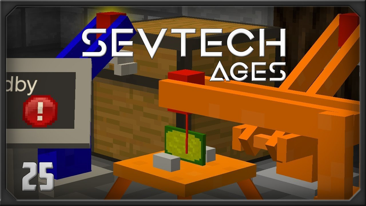 SevTech Ages EP25 PneumaticCraft Repressurized