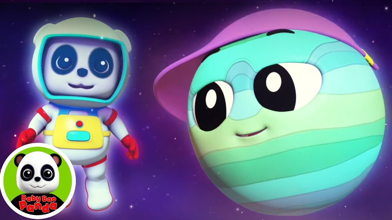 Planets Song | Let's Meet The Planets + More Preschool Learning Videos & Nursery Rhymes & Kids Song